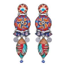 Ayala Bar Afro-Desia Swirly Girly Earrings