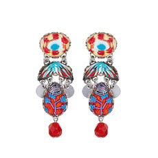 Ayala Bar Afro-Desia Beach Ball Earrings