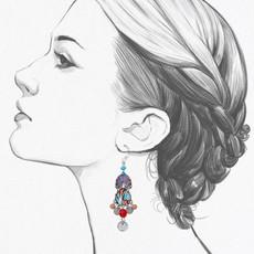 Ayala Bar Afro-Desia Bodacious Earrings