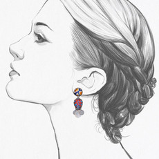 Ayala Bar Afro-Desia Boogie Nights Earrings