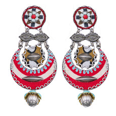 Ayala Bar Navajo Half Moon Earrings