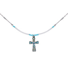 Ayala Bar Ayala Bar Class Faith Cross Turquoise