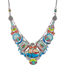 Ayala Bar Clear Coast Beach House Necklace