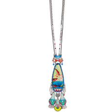 Ayala Bar Clear Coast Long and Layered Necklace