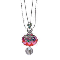 Ayala Bar Pretty in Pink Long and Layered Necklace