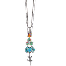 Ayala Bar Rio Celeste Long and Layered Necklace