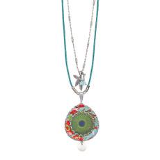 Ayala Bar Eye of the Peacock Long and Layered Necklace