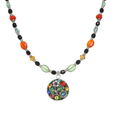 Michal Golan Midsummer Circle Beaded Necklace