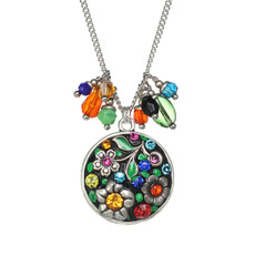 Michal Golan Midsummer Circle Charm Necklace