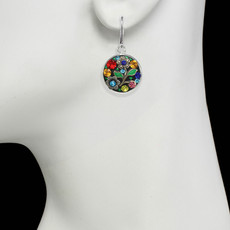 Michal Golan Midsummer Circle Dangling Earrings