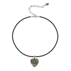 Michal Golan Midsummer Heart Choker Necklace