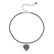 Michal Golan Midsummer Heart Choker Necklace