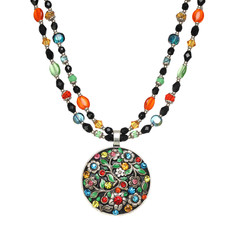 Michal Golan Midsummer Large Circle Necklace