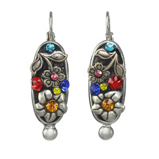Michal Golan Midsummer Oval Earrings