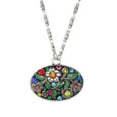 Michal Golan Midsummer Oval Necklace
