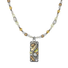 Michal Golan Moonlight Bar Beaded Necklace