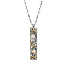 Michal Golan Moonlight Long Bar Necklace