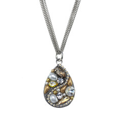 Michal Golan Moonlight Teardrop Necklace