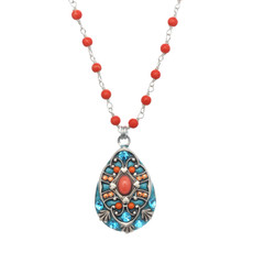 Michal Golan Drop Aruba Necklace
