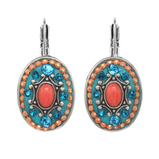 Michal Golan Oval Aruba Earrings