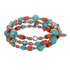 Michal Golan Aruba Beaded Wrap Bracelet