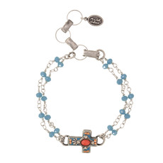 Michal Golan Aruba Cross Bracelet