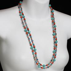 Michal Golan Aruba Long Beaded Necklace
