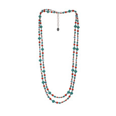 Michal Golan Aruba Long Beaded Necklace