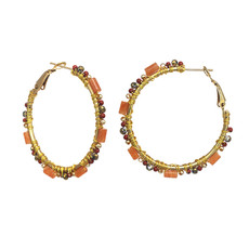 Michal Golan Cider Hoop Earrings