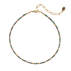 Michal Golan Evergreen Choker Necklace