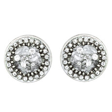 Michal Golan Icy Dreams Circle Earrings