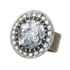 Michal Golan Icy Dreams Circle Ring