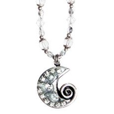 Michal Golan Icy Dreams Swirl Necklace