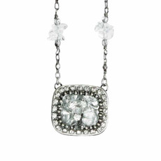 Michal Golan Icy Dreams Rectangle Necklace