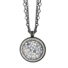 Michal Golan Icy Dreams Large Circle Necklace