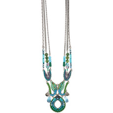 Ayala Bar Green River Long and Layered Necklace