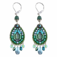 Ayala Bar Green River French Wire Earrings