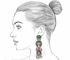 Ayala Bar Autumn Song Windchime Earrings