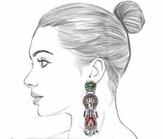 Ayala Bar Autumn Song Windchime Earrings