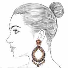 Ayala Bar Golden Fog Great Unknown Earrings