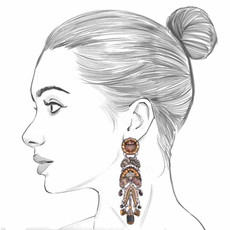 Ayala Bar Golden Fog Imagination Earrings