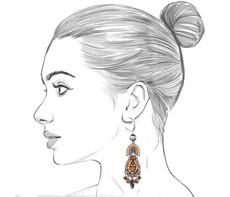 Ayala Bar Golden Fog French Wire Earrings