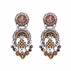 Ayala Bar Golden Fog Whistles Earrings