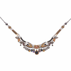 Ayala Bar Golden Fog City Construction Necklace