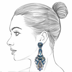 Ayala Bar Magic Potion Rocky Waters Earrings