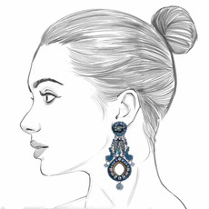 Ayala Bar Magic Potion Natural Spring Earrings