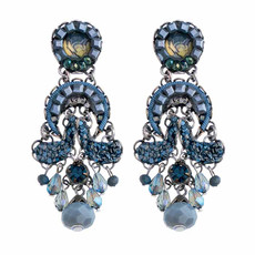 Ayala Bar Magic Potion Deep Blue Earrings