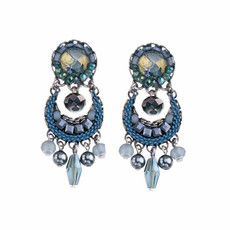Ayala Bar Magic Potion Blue Moon Earrings