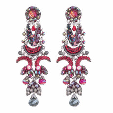 Ayala Bar Crimson Flame Red Cardinal Earrings