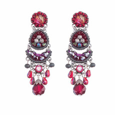 Ayala Bar Crimson Flame Pomegranate Seed Earrings